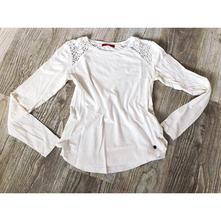 Bílé tričko s dlouhým rukávem vel.36 (s), s.oliver,s