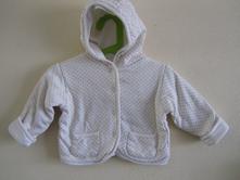 Baby - bavlněný kabátek 74/80, baby,74