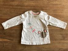 Dívčí tričko-pouze vyprane, h&m,68