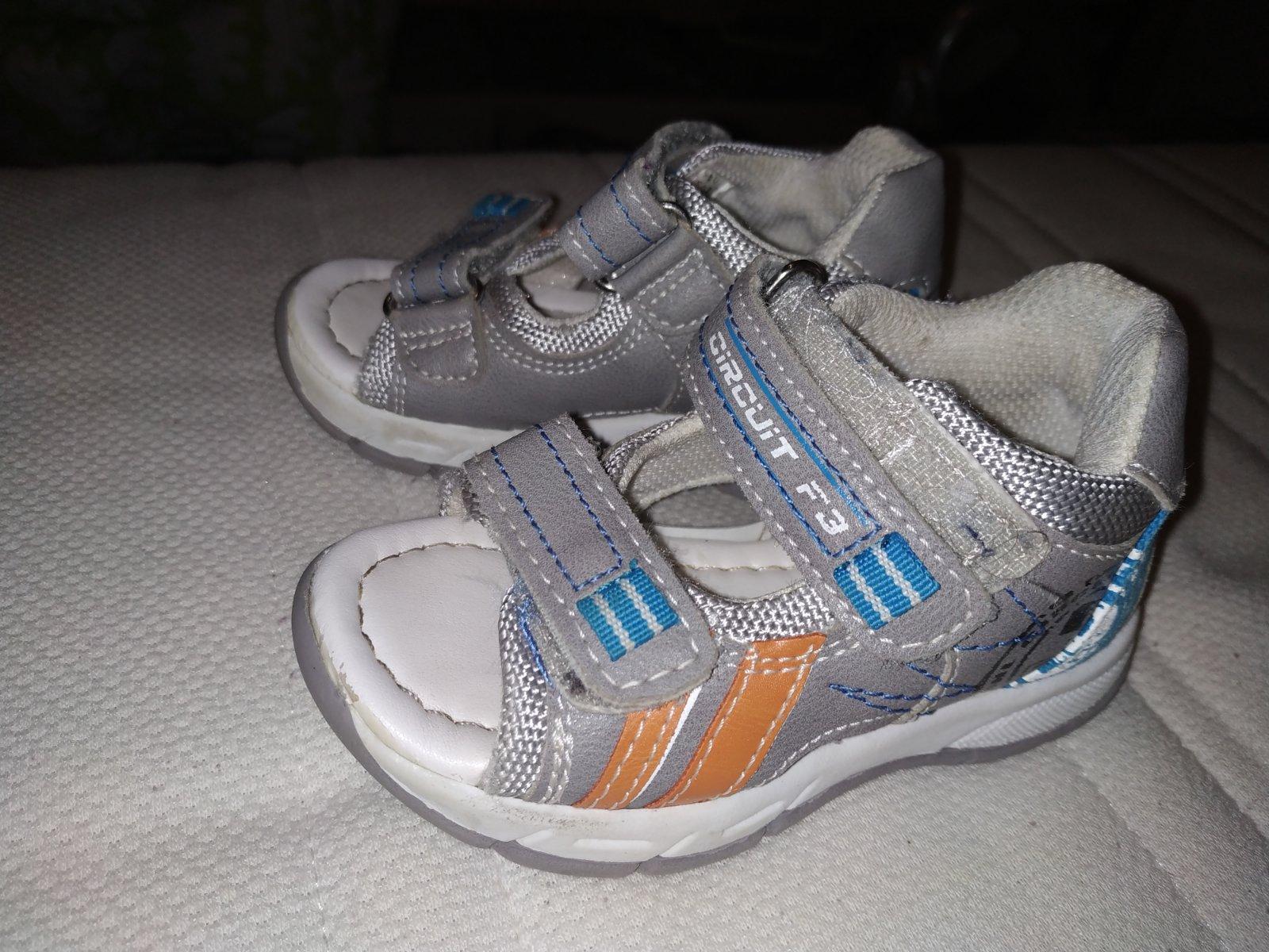 f937ecd5e64 Dětské sandálky vel. 21