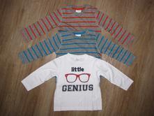 Tripack triček 'genius', packo, f&f,80