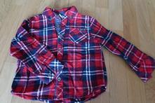 Chlapecká košile kostkovaná 104, f&f,104