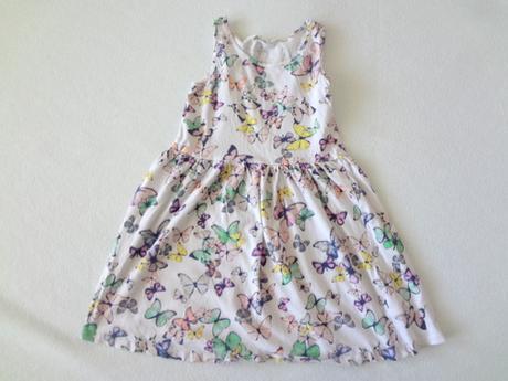 Bavlněné šaty, h&m,122