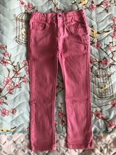 Růžové kalhoty, denim co,116