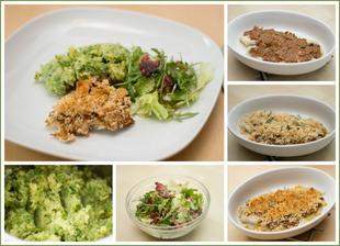 Treska v krustě, hráškový mišmaš a salát s pancettou - Jamie Oliver