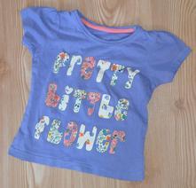 Dívčí tričko s krátkým rukávem vel. 92 monthercare, mothercare,92