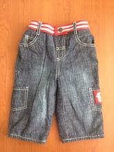 Zateplene jeansy, cherokee,74
