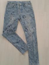 Dívčí modré džíny vel. 146, c&a,146