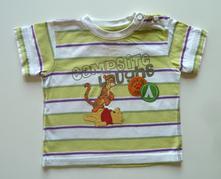 Disney obrázkové tričko s krátkým rukávem vel. 74, c&a,74