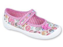 Dívčí balerínky befado, certifikovaná obuv, befado,26