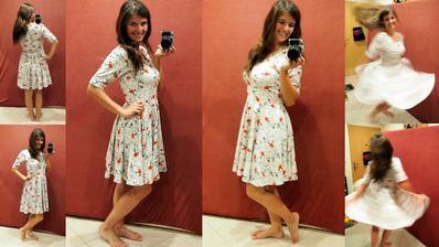 Nikdy mě nepřestanou bavit točivé sukně, úplety a nádherné vzory..