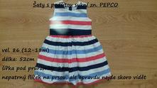 Šaty s podšitou sukní zn. pepco, pepco,86