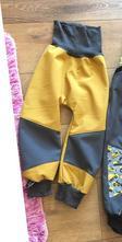 Zimní softshellové kalhoty vel. 110, 110