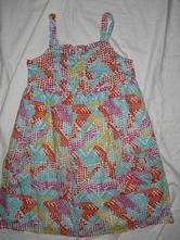 Nepřehlédnutelné dlouhé barevné šaty, marks & spencer,134