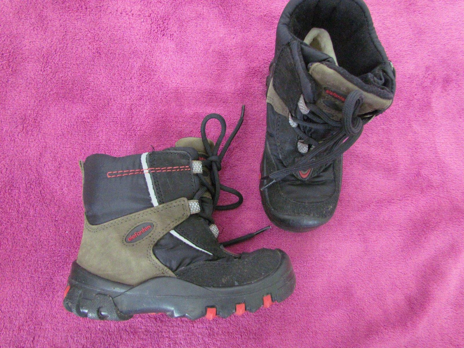 Podzimní zimní boty elefanten v. 24 df1aca997b