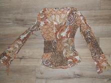 Pestrobarevná košile - halenka, 34