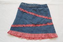 E65dívčí riflová sukně vel. 92-98, george,92