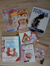 Kniha a časopisy pro maminky,