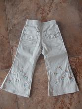 (6) parádní kalhoty pro štíhlou holčičku, 86