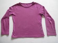 Fialové tričko dl.rukáv, f&f,122