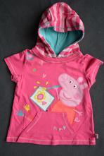 Mikina - tričko- klokanka s peppou pig, next,80
