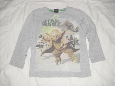 Star wars vrchní díl pyžama 122 - 128, 122