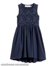 Šaty s krajkou h&m, velikost 98/104, h&m,98 / 104