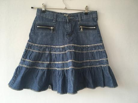 Džínová sukně vel. 28, 28