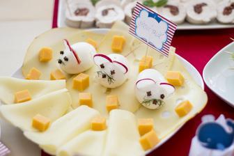 Sýrový talíř a myšky