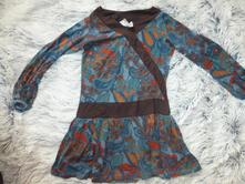 Barevné šatičky tunika, next,98