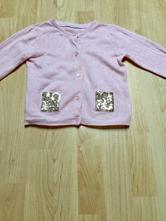 Růžový svetr svetřík s flitry, h&m,92