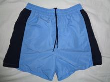 Krásné modré šortky alias plavky 158/164, 158 / 164