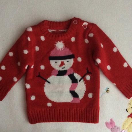 Vánoční svetr se sněhulákem zn. early days, 62