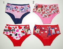 2pack kalhotky minnie, disney,116 / 122 / 128