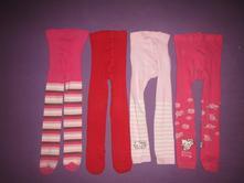 4x punčocháče, punčolegíny , 4-5 rokov, m&s, marks & spencer,110