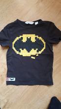 Peckovní tričko batman lego, h&m,110