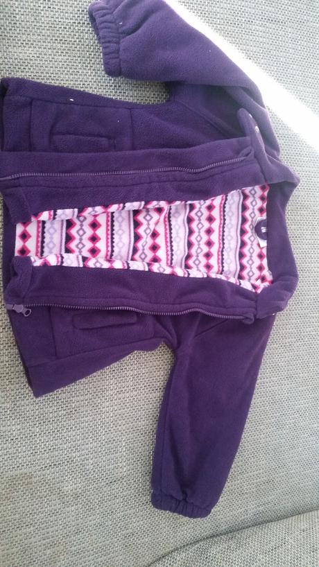 Kabátek fleecovy vel.80, baby,80