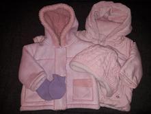Dětská zimní bunda - set, cherokee,74
