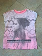 Neonové triko, tričko pepco s holkou, pepco,134