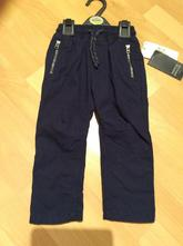 Modré kalhoty m&s, velikost 92/98, marks & spencer,92 / 98