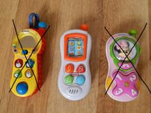Dětské zvukové mobily na hraní,