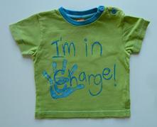 Obrázkové tričko s krátkým rukávem vel. 80, miniclub,80