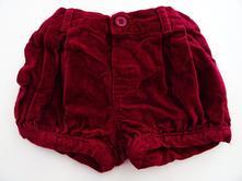 Sametové šortky , mothercare,68