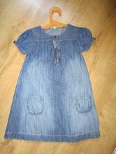 Džínové šaty, lindex,116