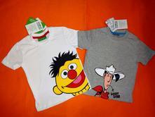 Duo nádherných triček z bio bavlny sesame a lucky, disney,62 - 92