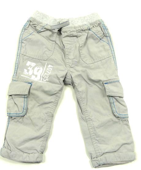 Plátěné vyteplené kalhoty, f&f,86