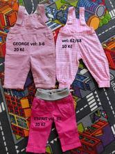 Dívčí kalhoty - lacláče, 62