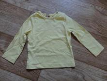 Žluté triko 9-12 měsíců, 80