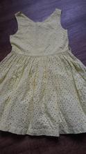 Vrstvené žluté šaty, marks & spencer,104