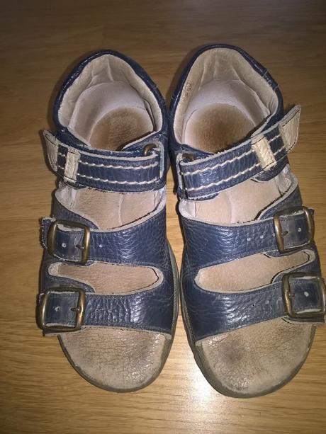 Modré sandály dpk, dpk,30
